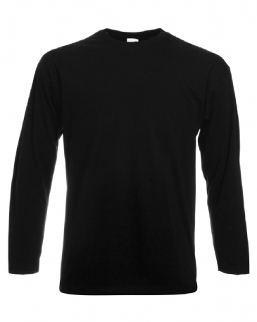 Fruit of The Loom Valueweight Long Sleeved T-Shirt SS032